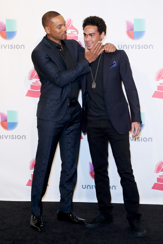 Will Smith Showers His Family With Love During a Big Night at the Latin Grammys