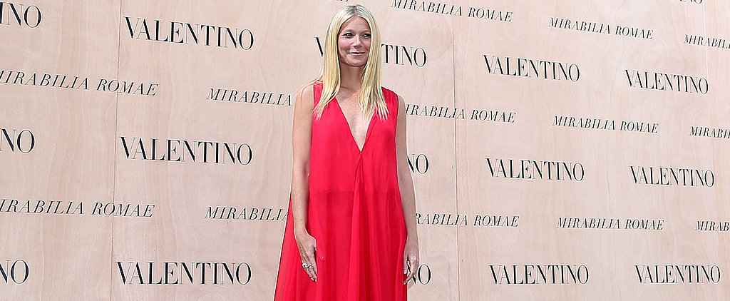 Gwyneth Paltrow Just Made Your Holiday Season With Her New Valentino Collaboration