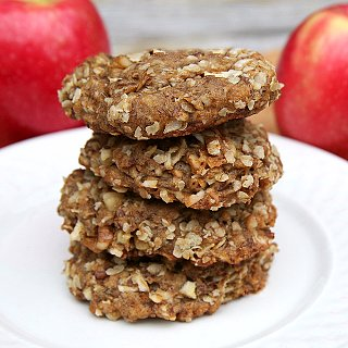 Healthy Recipe: Apple Oatmeal Flax Cookies
