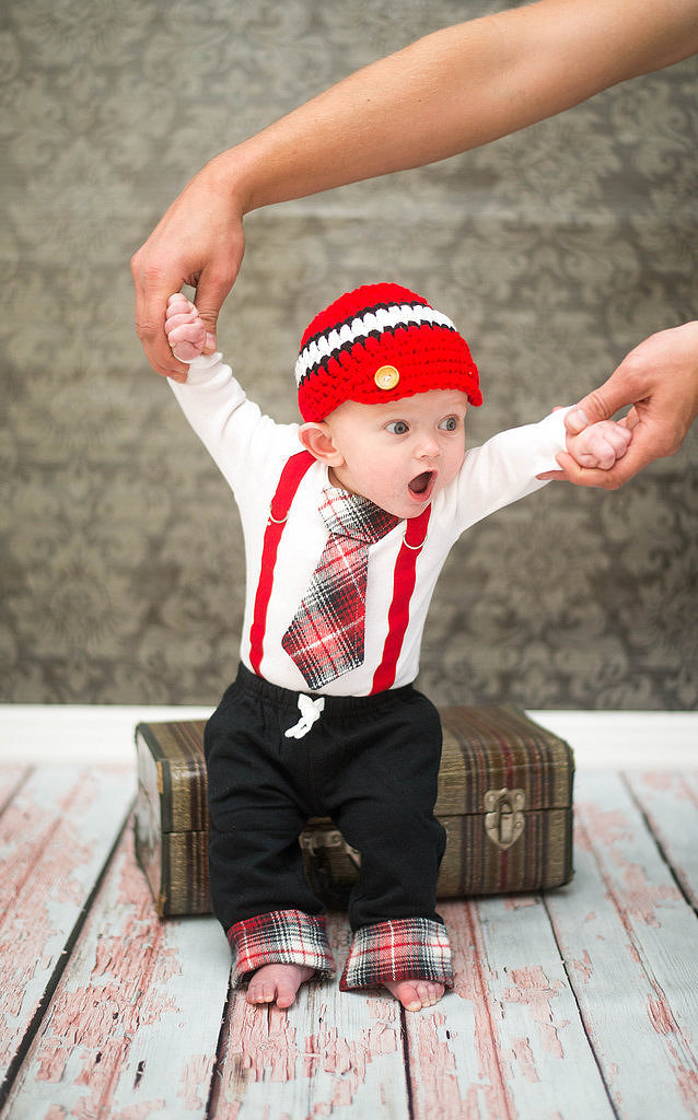 Baby Boy 3 Piece Christmas Outfit Set