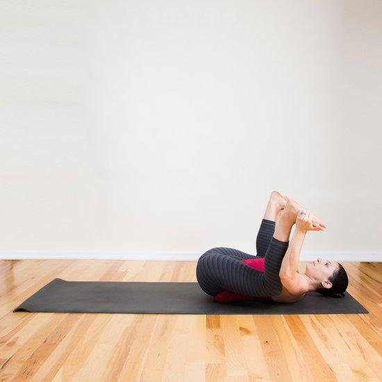 Strike a Yoga Pose Happy Baby