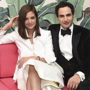 Katie Holmes and Zac Posen at WWD Event | November 2015