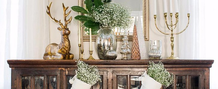14 Ways to Fake a Holiday Fireplace Mantel