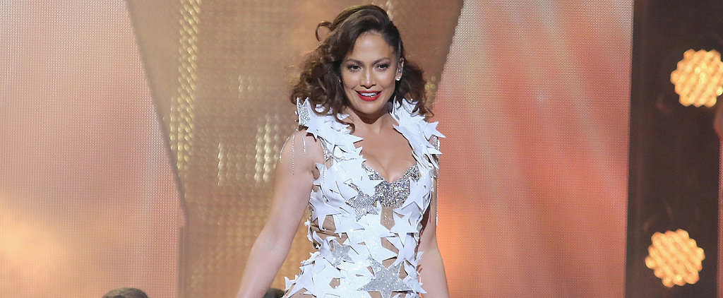 J Lo Wore the Sexiest Leather Dress For the American Idol Auditions