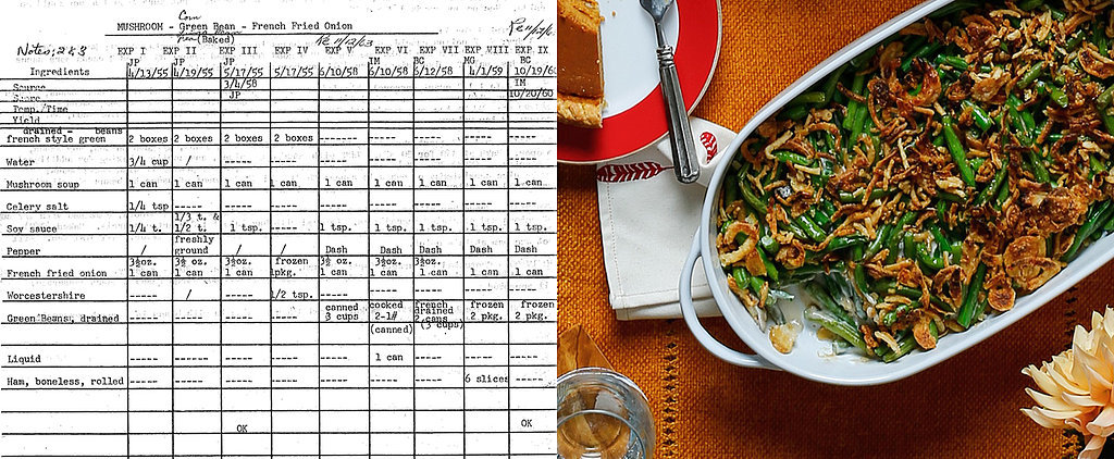 How Green Bean Casserole Became a Thanksgiving Icon
