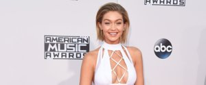 Gigi Hadid Just Won the AMAs' Sexiest Red Carpet Look
