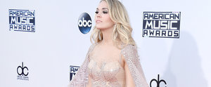 Carrie Underwood Totally Took the Cape on the AMAs Red Carpet
