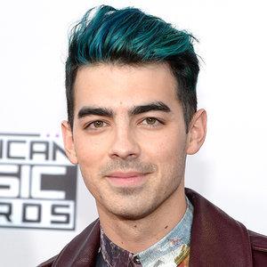 Joe Jonas Blue Hair 2015   AMAs