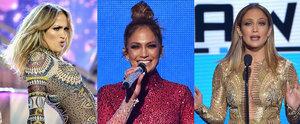 11 Amazing Beauty Looks Jennifer Lopez Wore at the AMAs