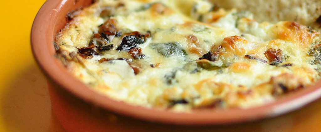 Try This Killer Mushroom and Goat Cheese Queso