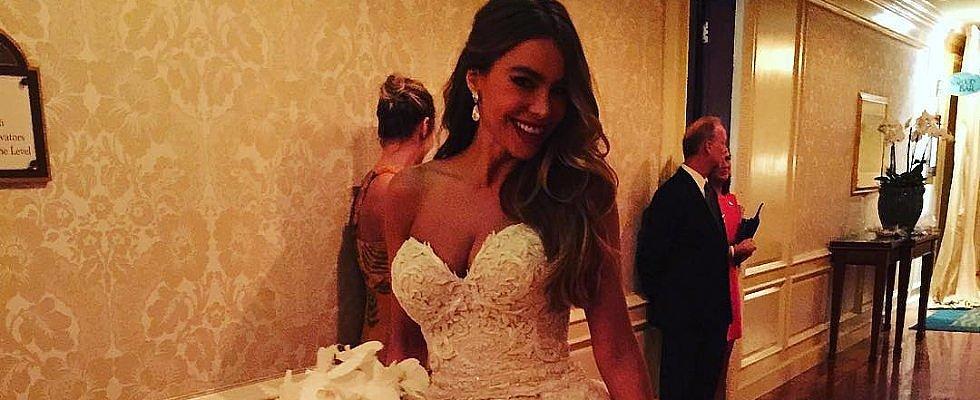 Sofia Vergara Couldn't Just Wear 1 Wedding Dress