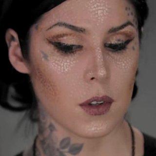 Kat Von D's Pointillism Makeup Tutorial