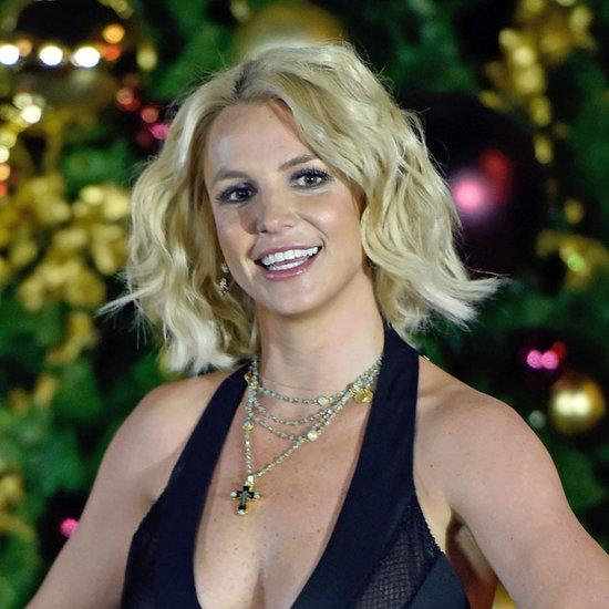 Britney Spears Las Vegas Christmas Tree Lighting 2015