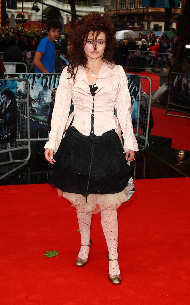 Harry Potter Premiere Red Carpet Outfits | POPSUGAR ... Helena Bonham Carter