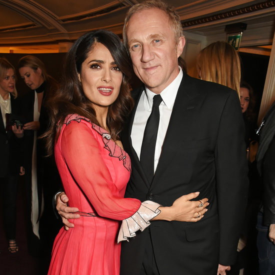 Salma Hayek and Her Husband PDA on the Red Carpet Nov. 2015