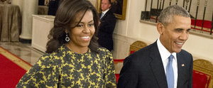 Michelle Obama Found Just the 1 Perfect, Printed Dress For Your Fall Wardrobe