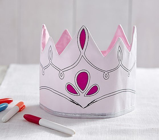 Pink Color Crown