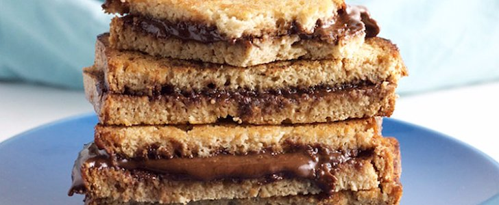 Dump Your Boring PB & J and Try This Paleo Grilled Nutella Sandwich ASAP
