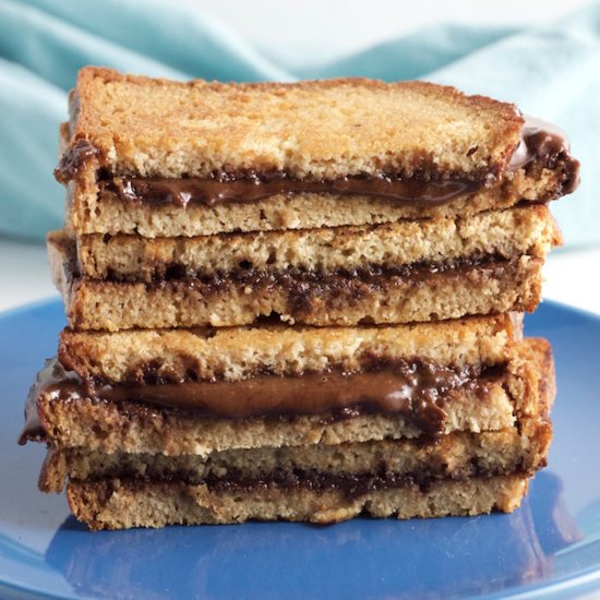 Paleo Grilled Nutella Sandwich Recipe