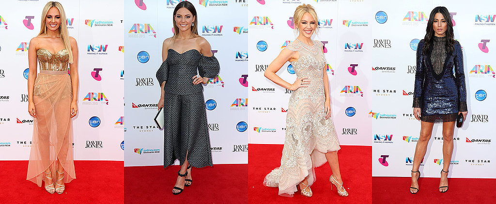 Live: See Every Show-Stopping Outfit on the ARIAs Red Carpet