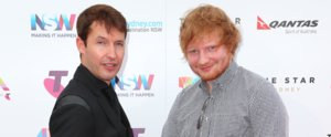 Ed Sheeran and James Blunt Took Their Bromance To New Levels at the ARIA Awards