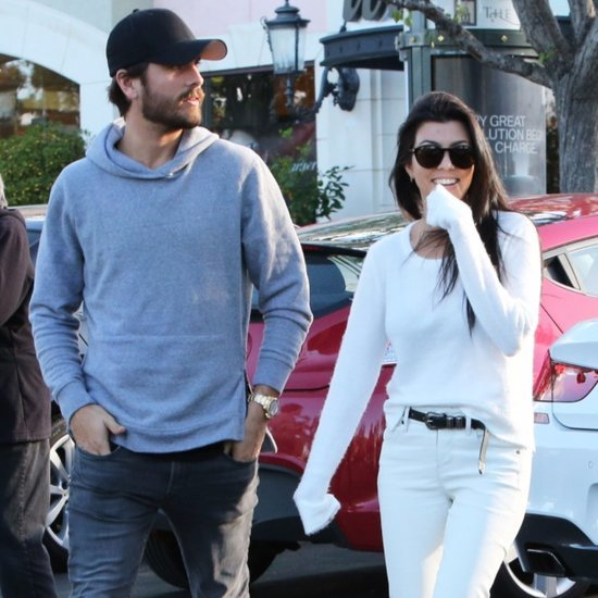 Kourtney Kardashian and Scott Disick Out in LA November 2015