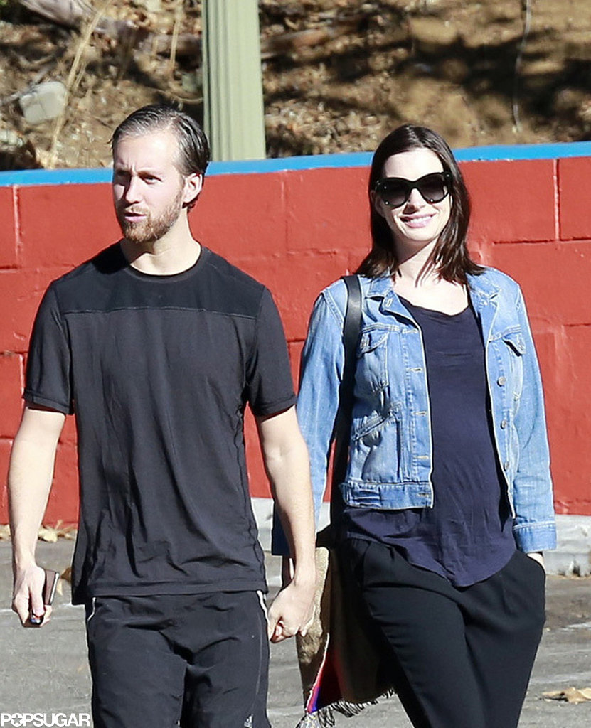 Anne Hathaway Spouse: Anne Hathaway And Adam Shulman In LA After Pregnancy News