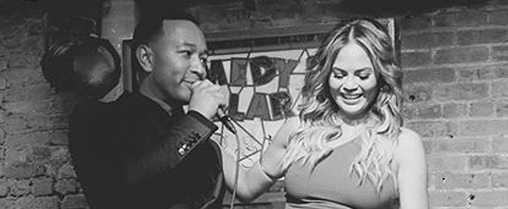 "Watch John Legend Serenade Chrissy Teigen With ""Happy Birthday"""