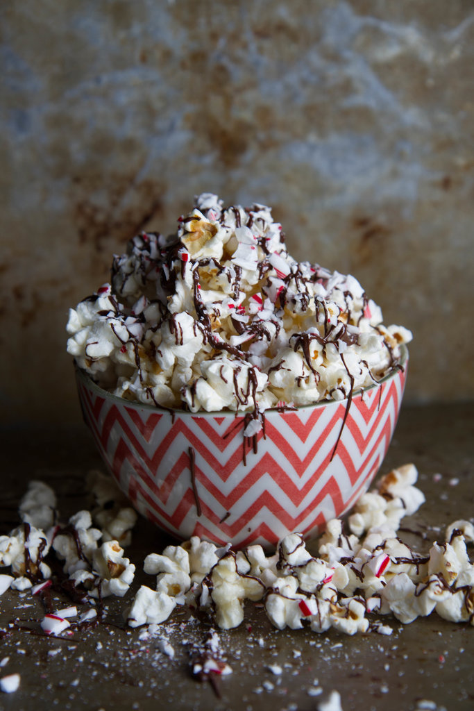 Chocolate Candy Cane Kettle Corn