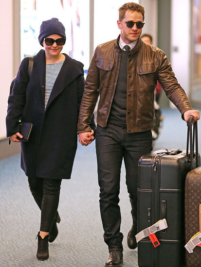 Ginnifer Goodwin and Josh Dallas Look Happy as Ever in Vancouver After Pregnancy Announcement