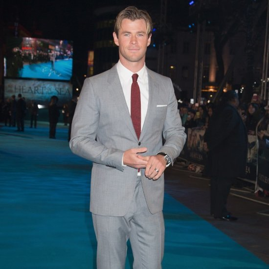 Chris Hemsworth at the Heart of the Sea UK Premiere Pictures