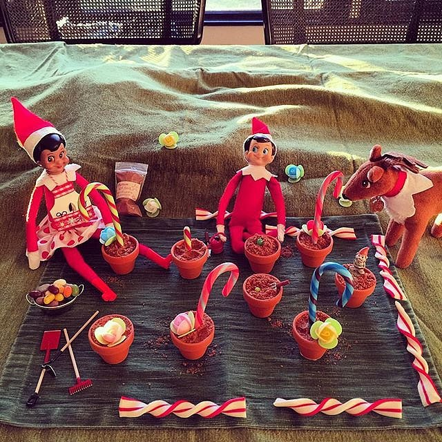 Busy Philipps posted her elf setup on Instagram.