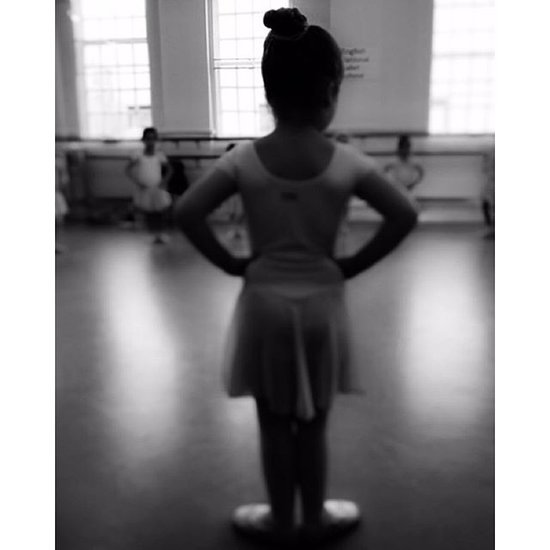 Victoria Beckham Shares Photo of Harper in Ballet Class