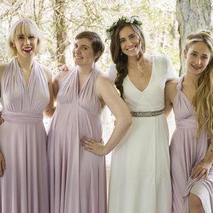 Marnie's Wedding Dress on Girls