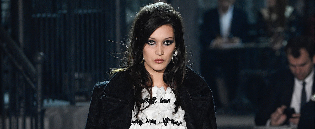 Bella Hadid's Chanel Debut Might Make Her Your Favorite Hadid Sister