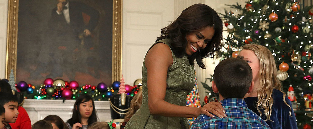 Step Aside, Mrs. Claus — Michelle Obama Has This Whole Christmas Thing Covered