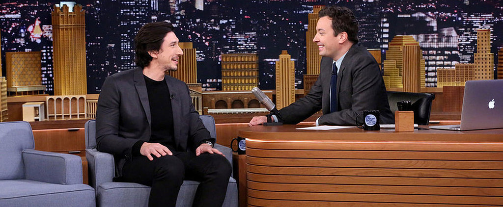 Adam Driver Is Adorably Coy While Discussing Star Wars With Jimmy Fallon
