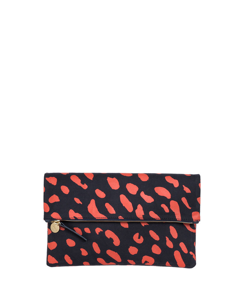 For the friend looking for something timeless that still feels unique, this Clare Vivier  fold-over clutch ($235) is an ideal choice.