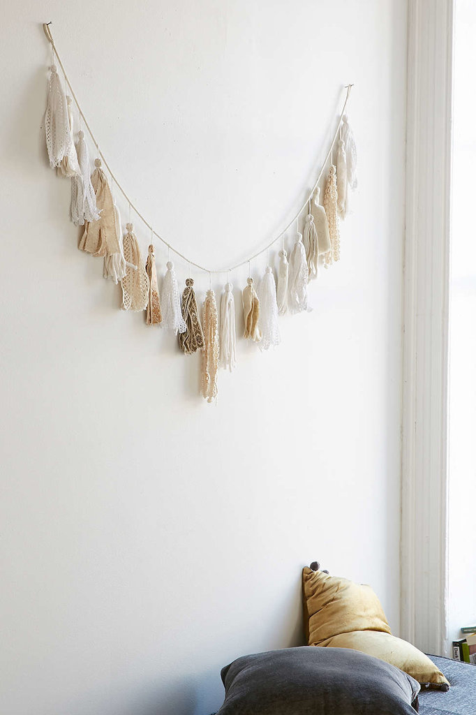 Guarantee that someone special has a home as equally chic as she is with this Plum & Bow tassel garland ($59).