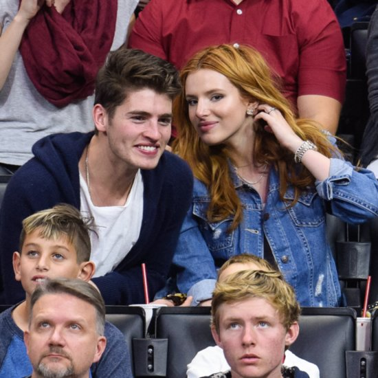 Bella Thorne and Gregg Sulkin Show PDA at Basketball Game