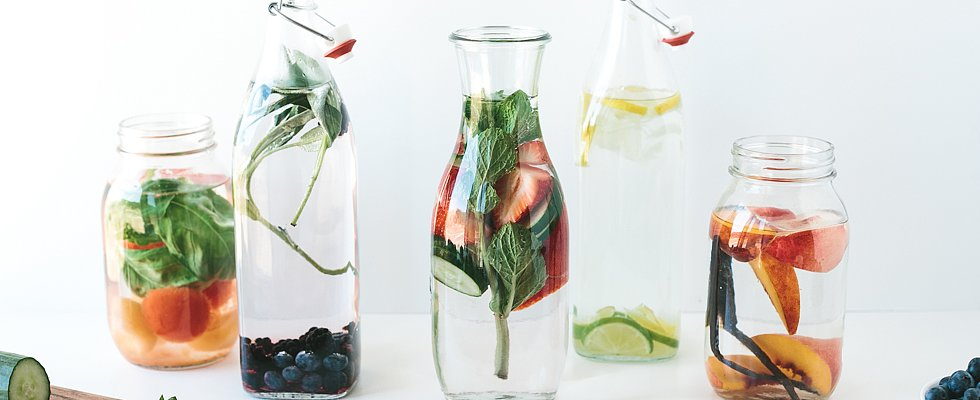 The Many Colorful Ways to Create a Flavorful Water