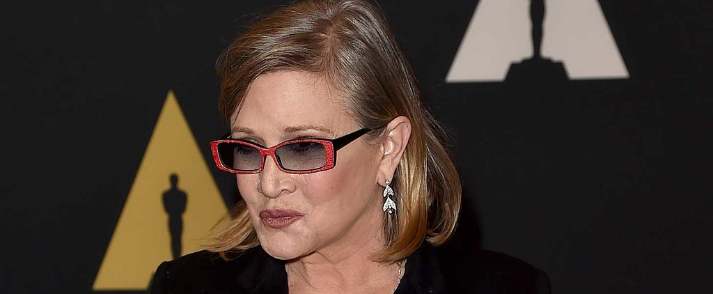 Carrie Fisher Reveals How She Was Pressured to Lose 35 Pounds For the Upcoming Star Wars Film