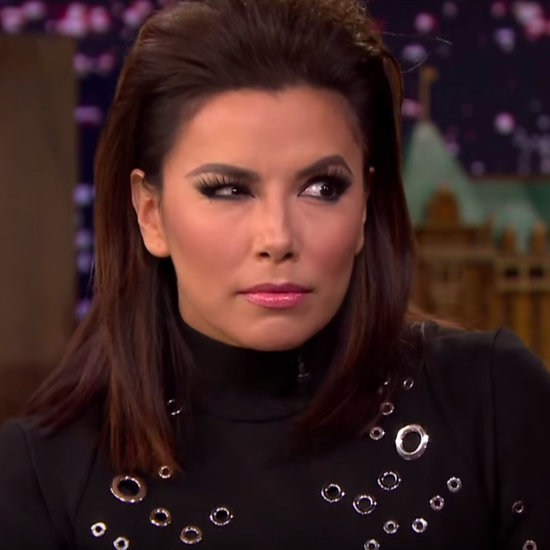 Eva Longoria Gives Jimmy Fallon a Telenovela Acting Lesson