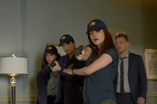 'Quantico' Winter Finale Photos: The Terrorists are Revealed