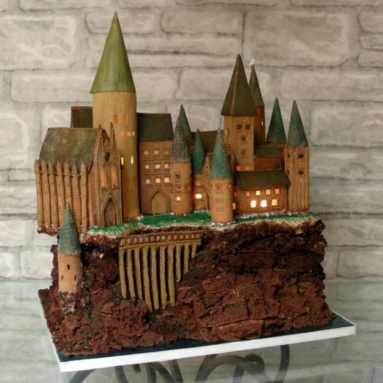 Harry Potter Gingerbread House Ideas