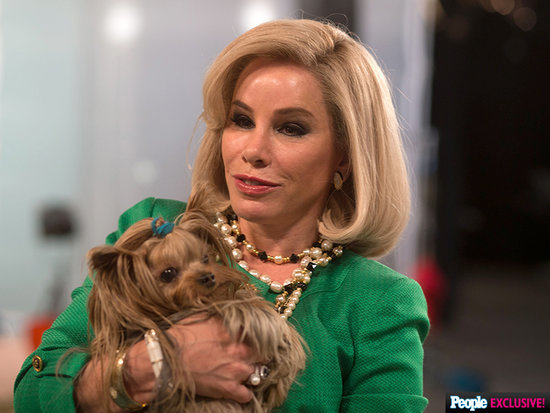 First Look! Melissa Rivers Plays Her Late Mom Joan in New Movie Joy