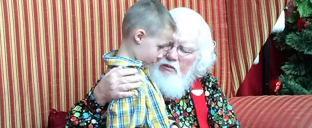 Santa's Response to This Little Boy Telling Him He Has Autism Is the Sweetest Thing