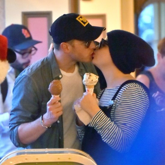 Ginnifer Goodwin and Josh Dallas at Disneyland December 2015