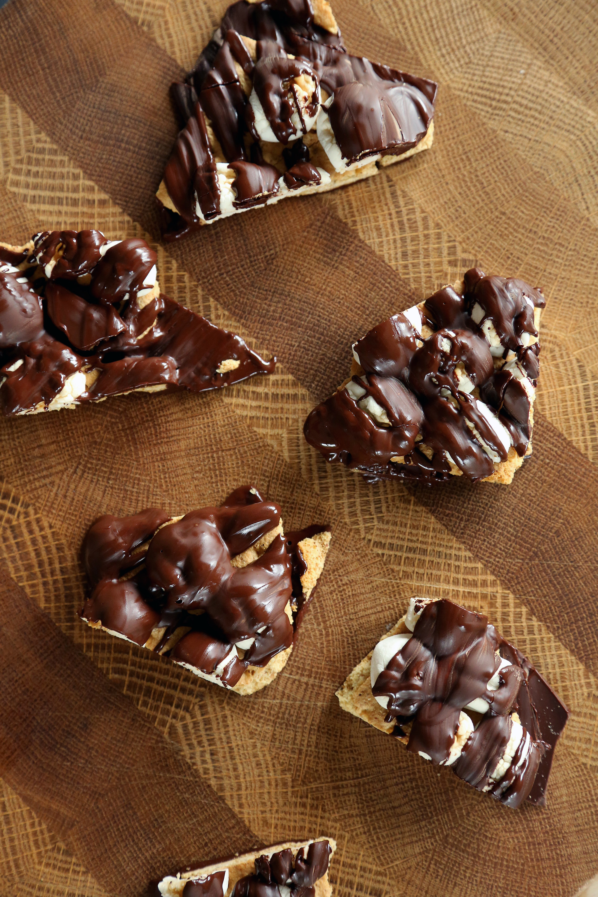 Easy S'mores Chocolate Bark Recipe | POPSUGAR Food