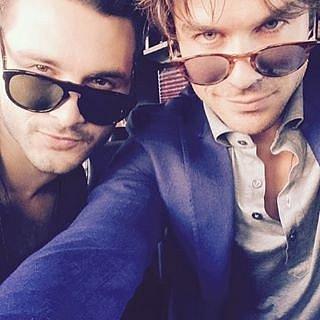 The Bad-Boy Vampires Selfie